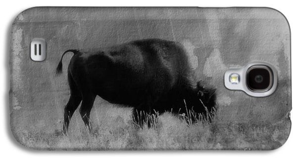 Bison Digital Galaxy S4 Cases - Bison On the Range Galaxy S4 Case by Vickie Emms