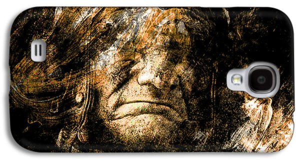 Photo Manipulation Mixed Media Galaxy S4 Cases - Bitter Mouth Galaxy S4 Case by Marian Voicu