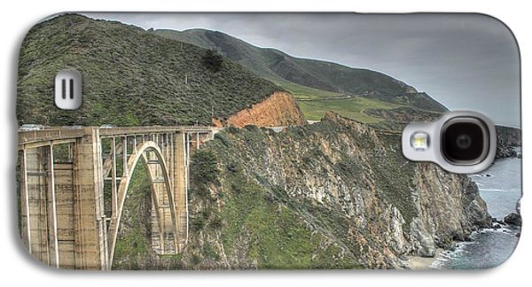 Bixby Bridge Galaxy S4 Cases - Bixby Bridge Galaxy S4 Case by Jane Linders