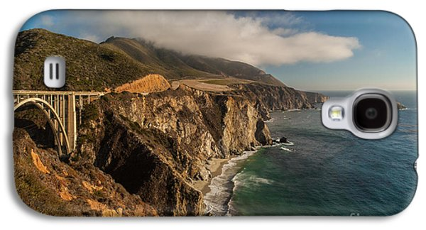 Bixby Bridge Galaxy S4 Cases - Bixby Coastal Drive Galaxy S4 Case by Mike Reid