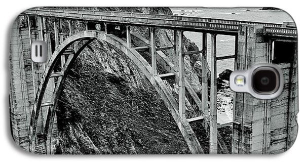 Pch Galaxy S4 Cases - Bixby Creek Bridge Black And White Galaxy S4 Case by Benjamin Yeager