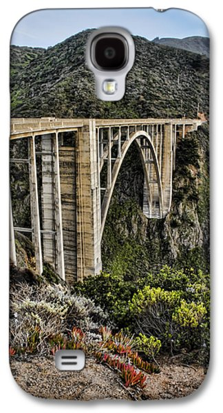 Bixby Bridge Galaxy S4 Cases - Bixby Creek Bridge Galaxy S4 Case by Heather Applegate