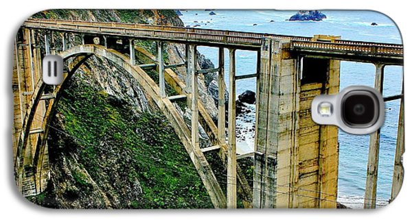 Pch Galaxy S4 Cases - Bixby Creek Bridge Panorama Galaxy S4 Case by Benjamin Yeager