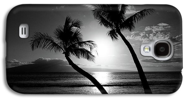 Hawaiian Galaxy S4 Cases - Black and White tropical Galaxy S4 Case by Pierre Leclerc Photography