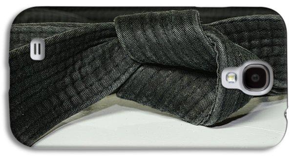 Black Belt Galaxy S4 Case by Paul Ward