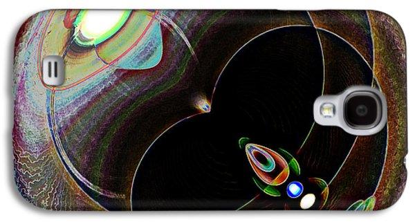 Black Eye Galaxy S4 Case by Samuel Sheats