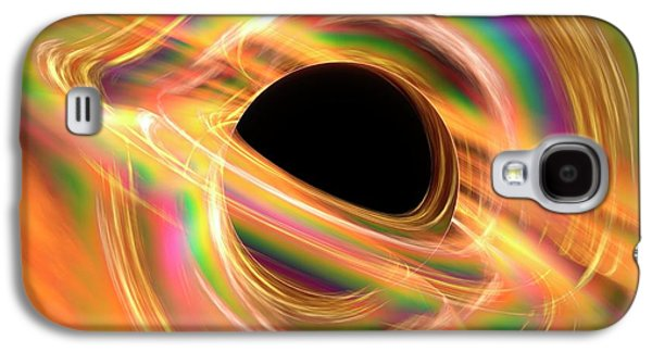 Black Hole Galaxy S4 Case by Alfred Pasieka