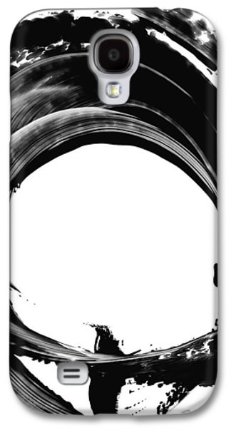 Abstracted Galaxy S4 Cases - Black Magic 304 by Sharon Cummings Galaxy S4 Case by Sharon Cummings