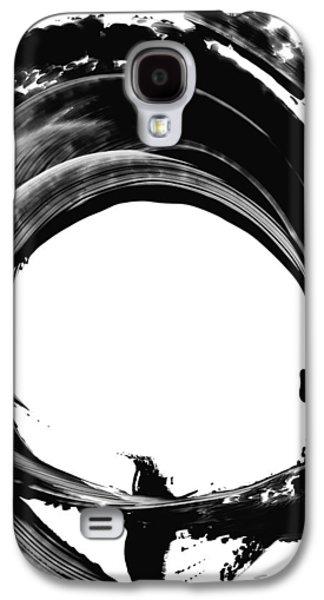 Black And White Art Galaxy S4 Cases - Black Magic 304 by Sharon Cummings Galaxy S4 Case by Sharon Cummings
