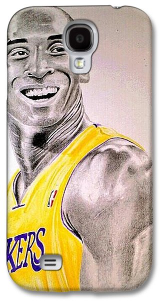 Bryant Drawings Galaxy S4 Cases - Black Mamba Galaxy S4 Case by Patrick Rose