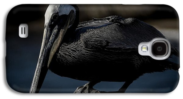 Black Pelican Galaxy S4 Case by Ernie Echols