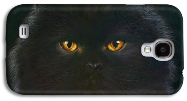 Black Persian Galaxy S4 Case by Andrew Farley