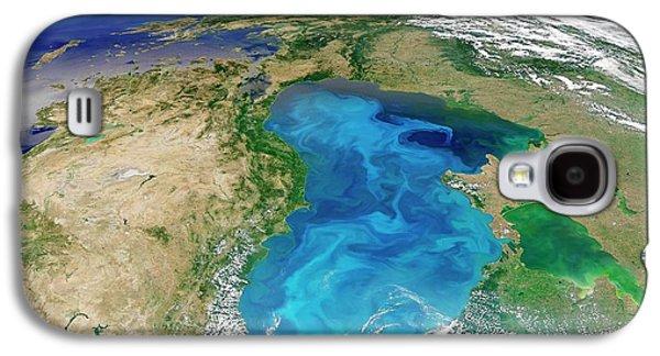 Black Sea Phytoplankton Bloom Galaxy S4 Case by Nasa/norman Kuring