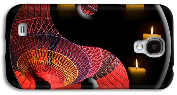 Concept Photographs Galaxy S4 Cases - Black Tao Galaxy S4 Case by Delphimages Photo Creations