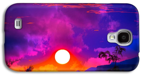 Sunset Abstract Galaxy S4 Cases - Blackberry Smoke Galaxy S4 Case by Buffalo Fawn Photography