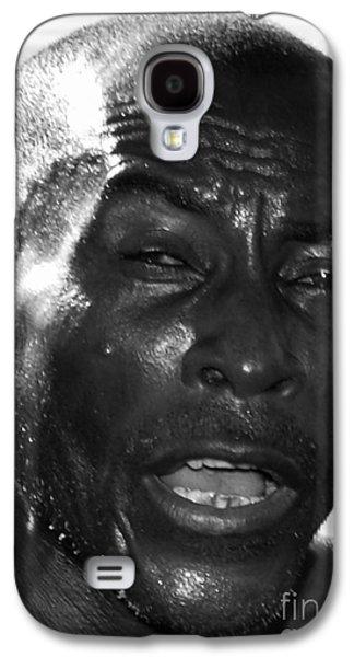 Black Mamba Galaxy S4 Cases - Ye Man  Galaxy S4 Case by Kenroy Rhoden
