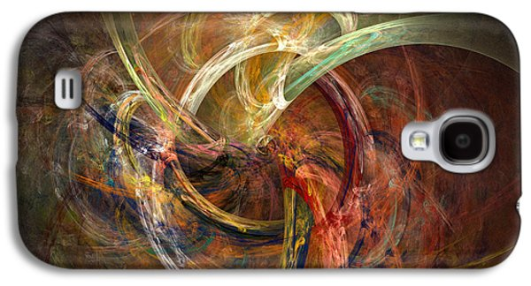 Fractal Galaxy S4 Cases - Blagora Galaxy S4 Case by David April