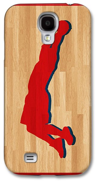 Dunk Galaxy S4 Cases - Blake Griffin Los Angeles Clippers Galaxy S4 Case by Joe Hamilton
