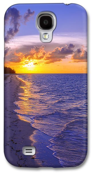 Glow Photographs Galaxy S4 Cases - Blaze Galaxy S4 Case by Chad Dutson