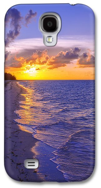Sun Rays Galaxy S4 Cases - Blaze Galaxy S4 Case by Chad Dutson