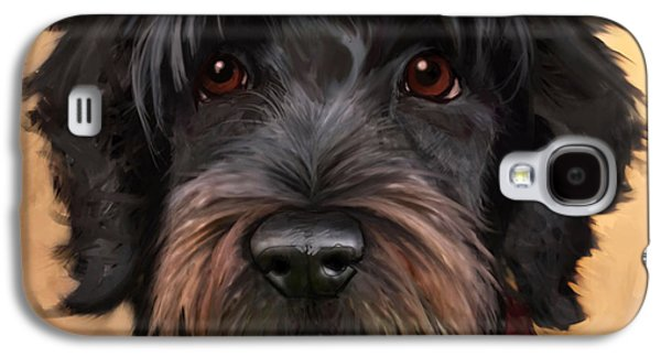 Dog Galaxy S4 Cases - Blaze Galaxy S4 Case by Sean ODaniels