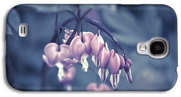 Garden Images Galaxy S4 Cases - Bleeding Heart Flower Galaxy S4 Case by Frank Tschakert