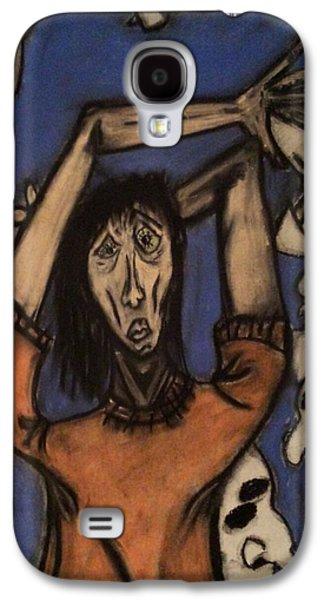 Creepy Pastels Galaxy S4 Cases - Bleh Galaxy S4 Case by Albert Mendez