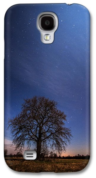 Moonscape Galaxy S4 Cases - Blessed by the moon Galaxy S4 Case by Davorin Mance
