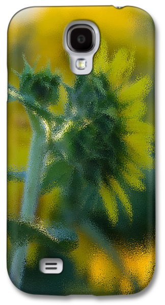 Sunflower Patch Galaxy S4 Cases - Bliss for me Galaxy S4 Case by Rima Biswas