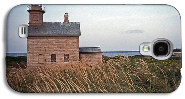 Ocean Art Photography Galaxy S4 Cases - Block Island North West Lighthouse Galaxy S4 Case by Skip Willits