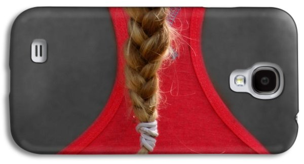 Hairstyle Digital Galaxy S4 Cases - Blonde Tail  Galaxy S4 Case by Steven  Digman