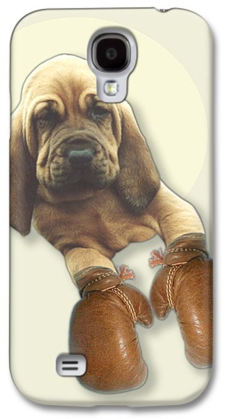 Bloodhound Boxer Galaxy S4 Case by Jimmy Collins
