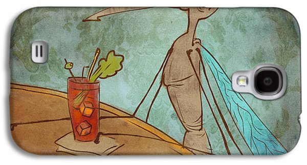 Bloody Mary Mosquito Galaxy S4 Case by Jack Myers