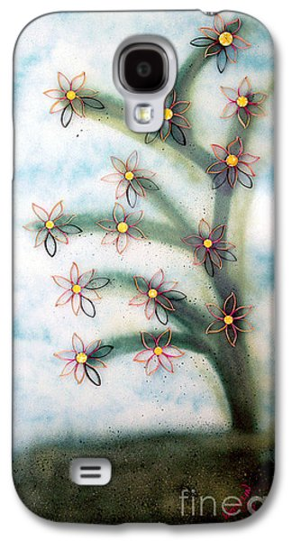 Abstracted Reliefs Galaxy S4 Cases - Bloom and Re-bloom Galaxy S4 Case by Crush Creations