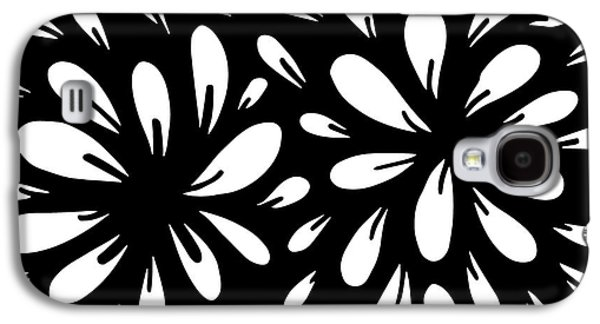 Playful Digital Galaxy S4 Cases - Blossom Galaxy S4 Case by HD Connelly