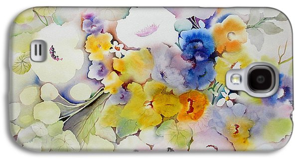 Tasteful Art Galaxy S4 Cases - Blossoms II Galaxy S4 Case by Neela Pushparaj