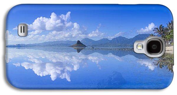 Tropical Oceans Galaxy S4 Cases - Blu Mokolii Galaxy S4 Case by Sean Davey