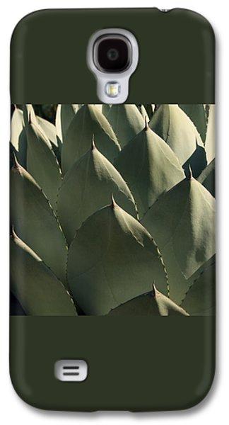 Blue Aloe Galaxy S4 Case by Ellen Henneke