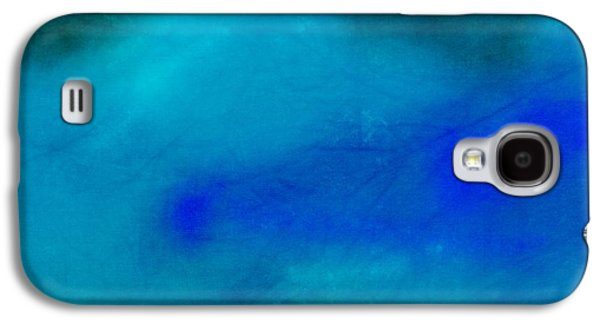 Becky Digital Art Galaxy S4 Cases - Blue and Green Texture Galaxy S4 Case by Becky Hayes