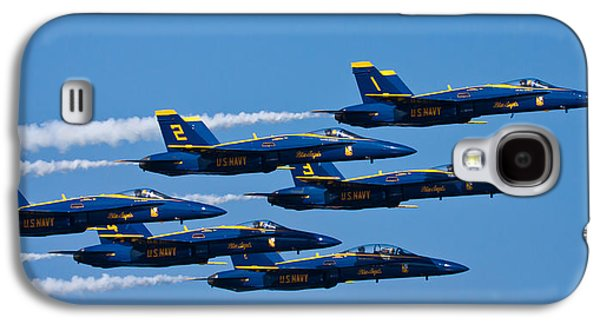 Jet Photographs Galaxy S4 Cases - Blue Angels Galaxy S4 Case by Adam Romanowicz
