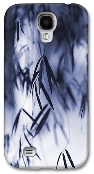 Bamboo Galaxy S4 Cases - Blue Bamboo Galaxy S4 Case by Tim Gainey
