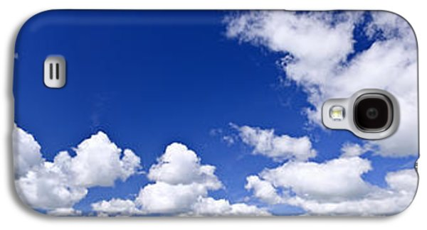 Cloudy Day Galaxy S4 Cases - Blue cloudy sky panorama Galaxy S4 Case by Elena Elisseeva