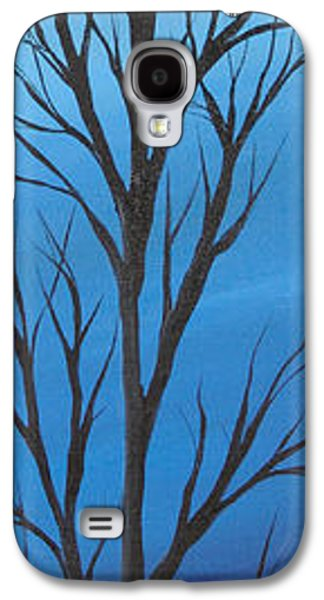 Landscape Acrylic Prints Galaxy S4 Cases - Blue day Galaxy S4 Case by Roni Ruth Palmer