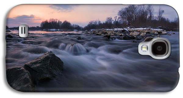Landscapes Photographs Galaxy S4 Cases - Blue dream Galaxy S4 Case by Davorin Mance