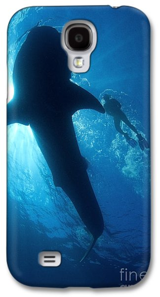 Plankton Galaxy S4 Cases - Blue Encounter Galaxy S4 Case by Aaron Whittemore
