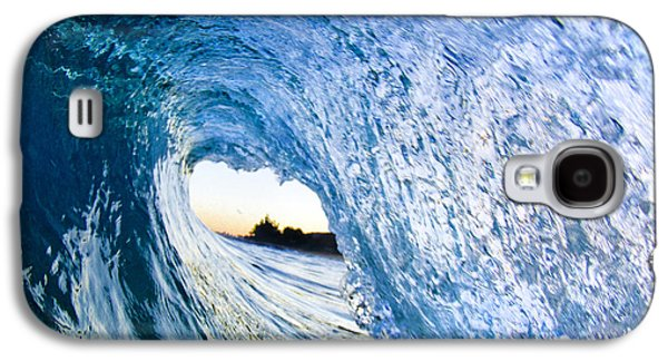 Ocean Art Photography Galaxy S4 Cases - Blue envelope  -  part 3 of 3 Galaxy S4 Case by Sean Davey