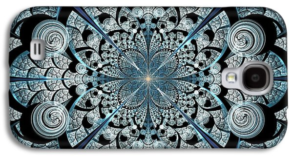 Door Galaxy S4 Cases - Blue Gates Galaxy S4 Case by Anastasiya Malakhova