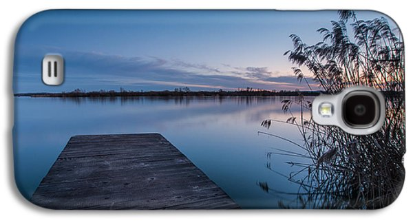 Landscape Photographs Galaxy S4 Cases - Blue hour on lake Galaxy S4 Case by Davorin Mance