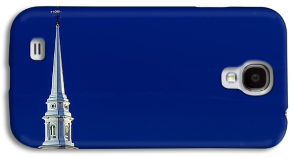 4th July Galaxy S4 Cases - Blue Hour Steeple Galaxy S4 Case by Jeff Sinon