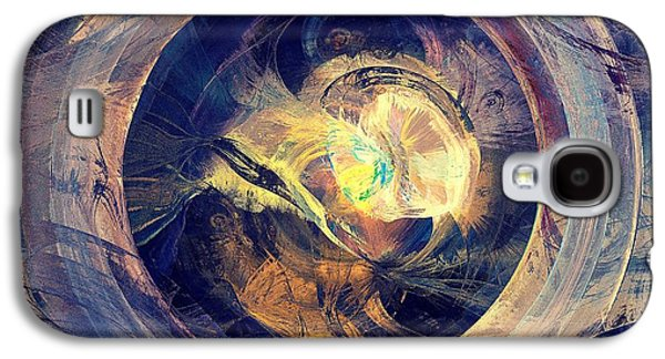 Folklore Galaxy S4 Cases - Blue Legend Galaxy S4 Case by Anastasiya Malakhova